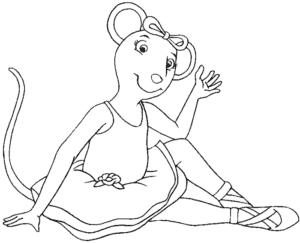 балерина Мышь