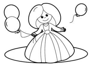 праздник у принцессы