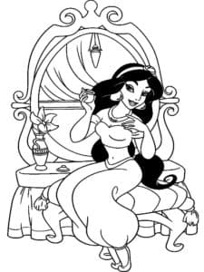 Жасмин на троне