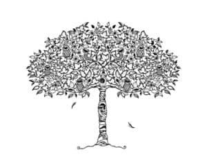 Дерево пышное антистресс