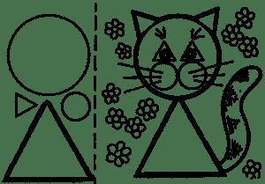 Кошка для аппликаций