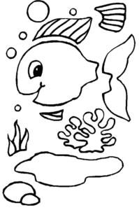 рыбка для аппликаций