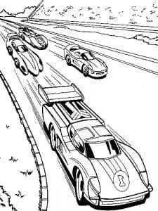 Спортивные гоночные машины