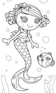 Русалочка лалалупси