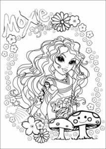 Мокси и грибы