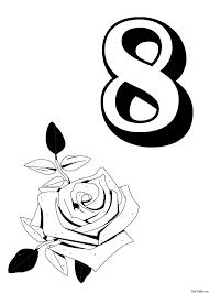 8 марта и роза