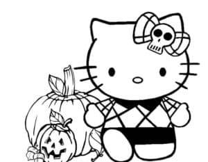 раскраска на хеллоуин