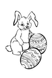 Зайка и два яйца