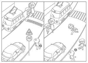 кто правильно переходит дорогу