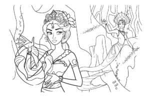 русалка и принцесса