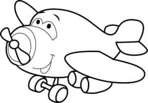 Самолет смешной