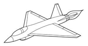 Самолет истребитель