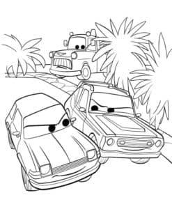 тачки и пальмы