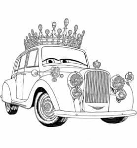 Тачка с короной