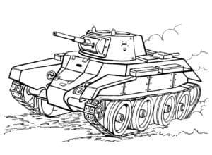 Гусеничный танк