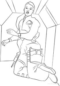 женщина космонавт