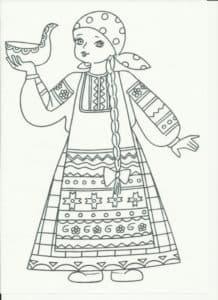 женщина с ковшом