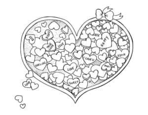 сердечки в сердце