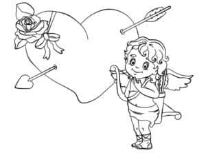стрела пронзила сердце