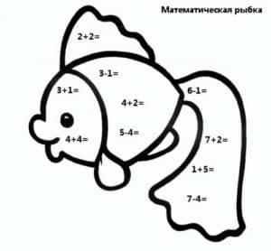 математическая рыбка