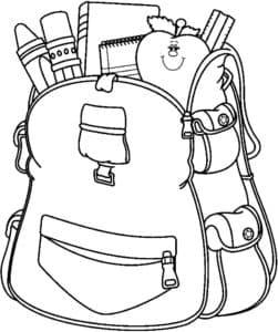 рюкзак ученика