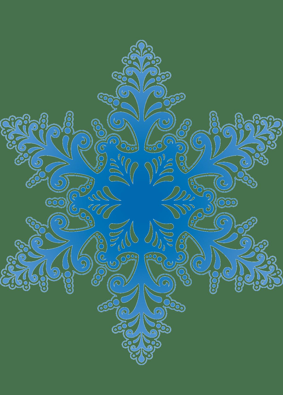 Раскраски Cнежинка
