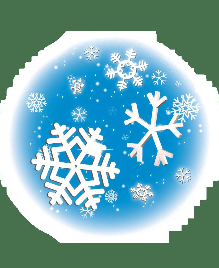 Раскраска Снег