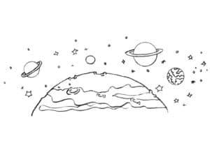 планета в галактике