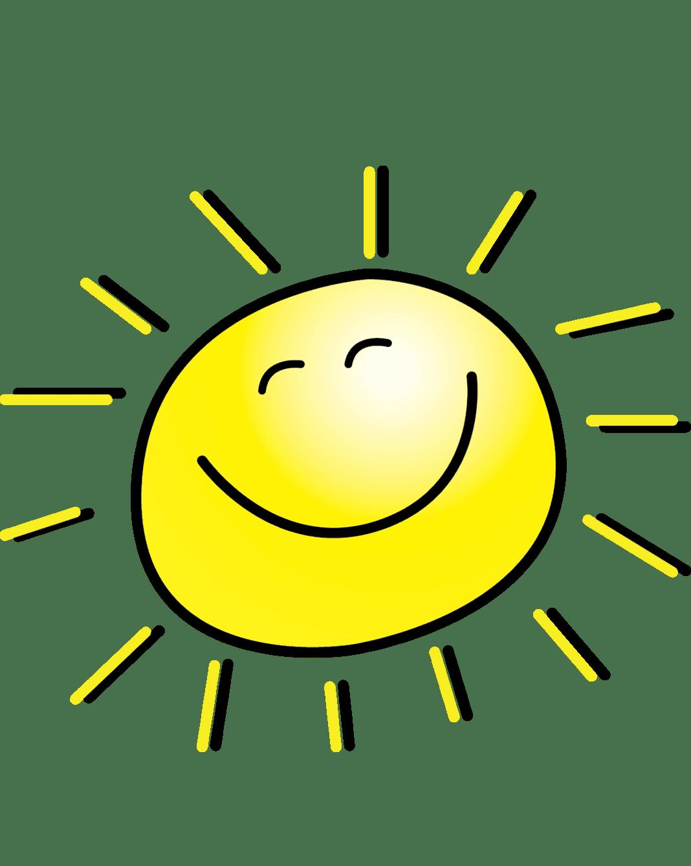 Раскраска Солнышко