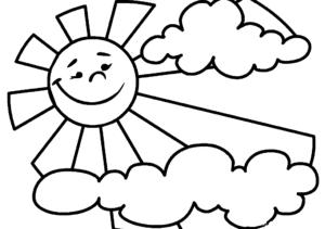 солнце и облака