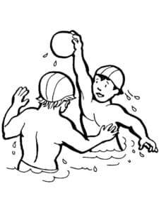 Водный волейбол