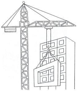 Кран строительный