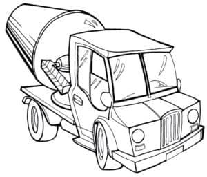 Автомобиль бетономешалка