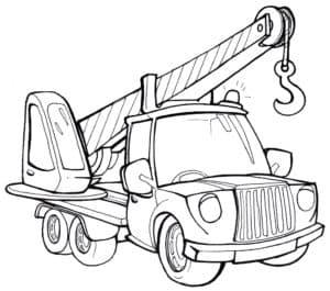 Автокран грузовик