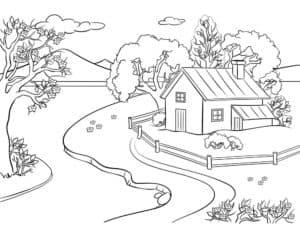 дом и тропа