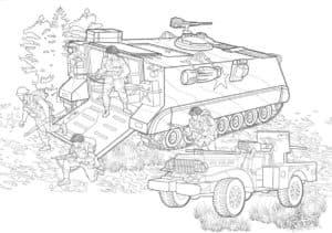 Высадка солдат