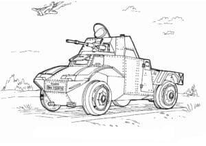 Маленькая военная машина