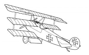 Немецкий самолет