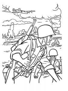 Солдаты вов