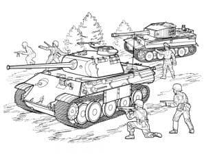 Воины и лес