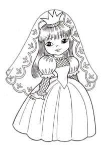 Королева в платье