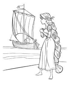корабль и принцесса