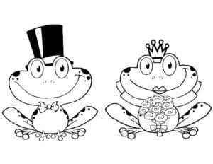 лягушка жених и невеста