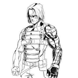Баки Барнс - офицер армии США, отличный спортсмен