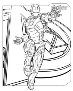 Тони, супергерой в броне