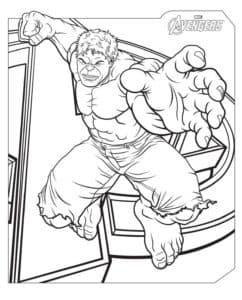 Халк - один из самых узнаваемых персонажей комиксов марвел