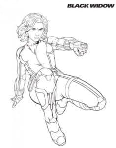 Чёрная вдова - женщина-супергероиня, Ее костюм оснащен браслетами, способными выпускать мощные высокочастотные электрические разряды