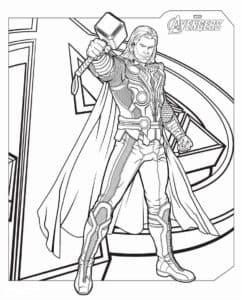 Тор - Супергерой, бог из германо-скандинавской мифологии