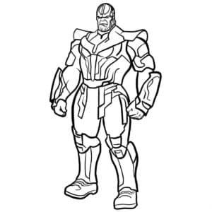 Танос - Тёмный владыка, суперзлодей. Могущественный космический военачальник