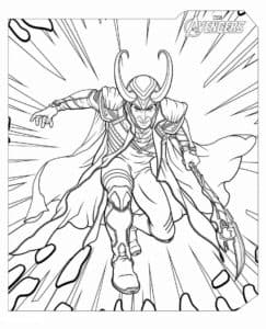 Локи - бог огня и коварства